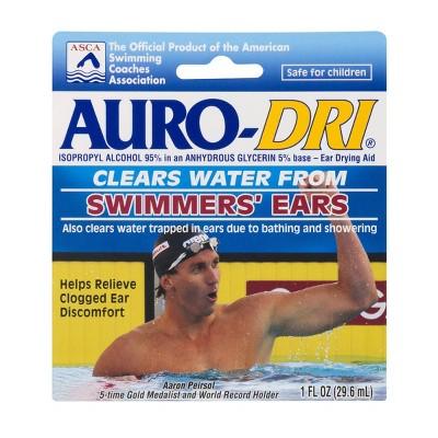 Auro Dri Ear Drying Drops For Swimmer's Ear - 1 fl oz