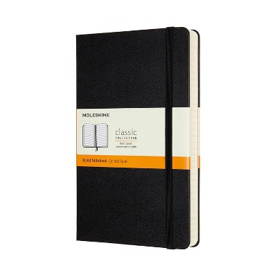"Moleskine Solid Lined Composition Journal 5""x 8"" Black"