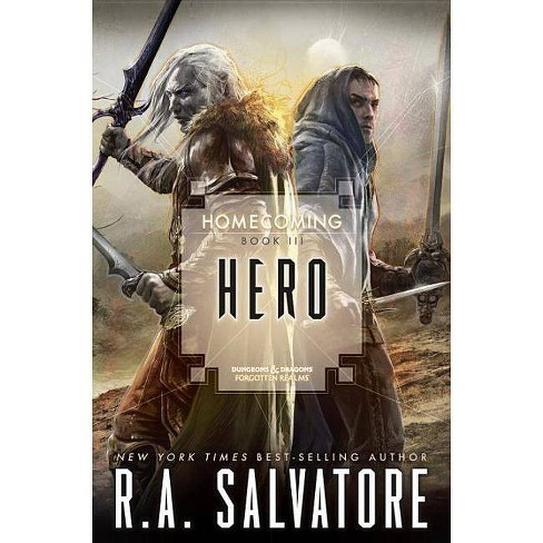 Hero - by R A Salvatore (Paperback)