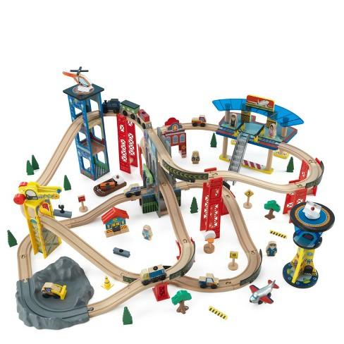 KidKraft Super Highway Train Set Only - image 1 of 4