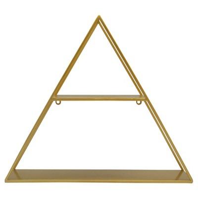 Triangle Shelf Brass - Project 62™