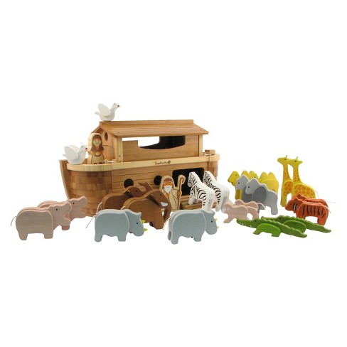 Everearth Giant Noahs Ark With Animals
