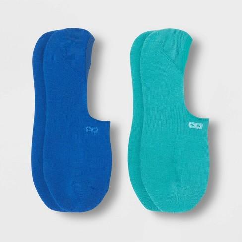 Pair of Thieves Men's Cushion No Show Socks 2pk - Blue 8-12 - image 1 of 2