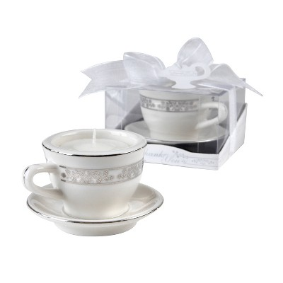 12ct Teacups and Tealights Miniature Porcelain Tealight Holders