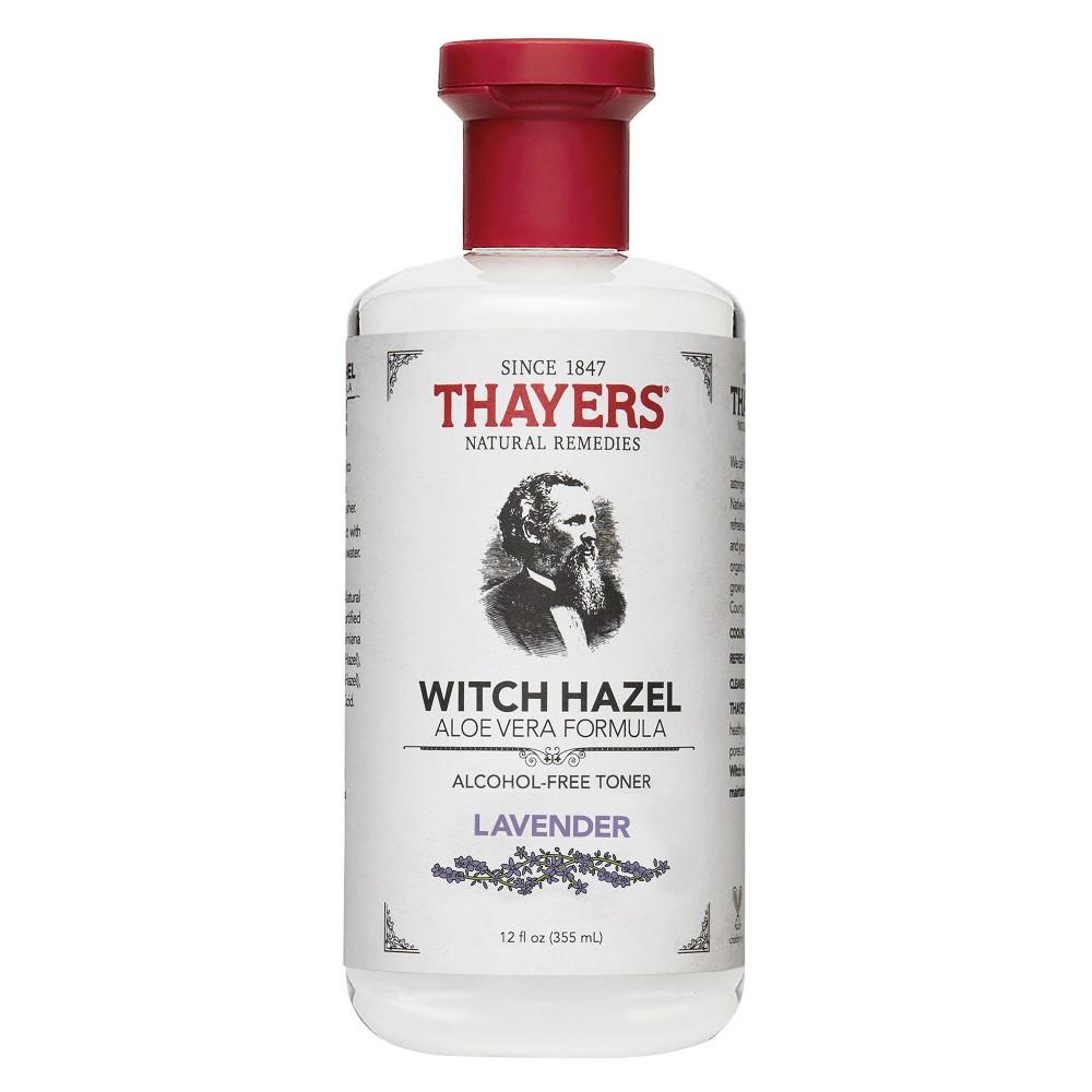 Thayers Witch Hazel Alcohol Free Toner Lavender (Purple) - 12 oz