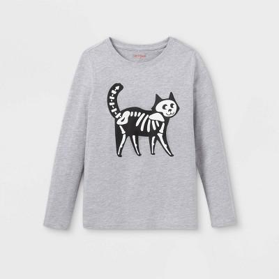 Girls' Halloween Long Sleeve Graphic T-Shirt - Cat & Jack™