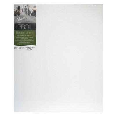 "Fredrix Pro Belgian Linen Pre-Stretched Canvas, 20 X 24"""