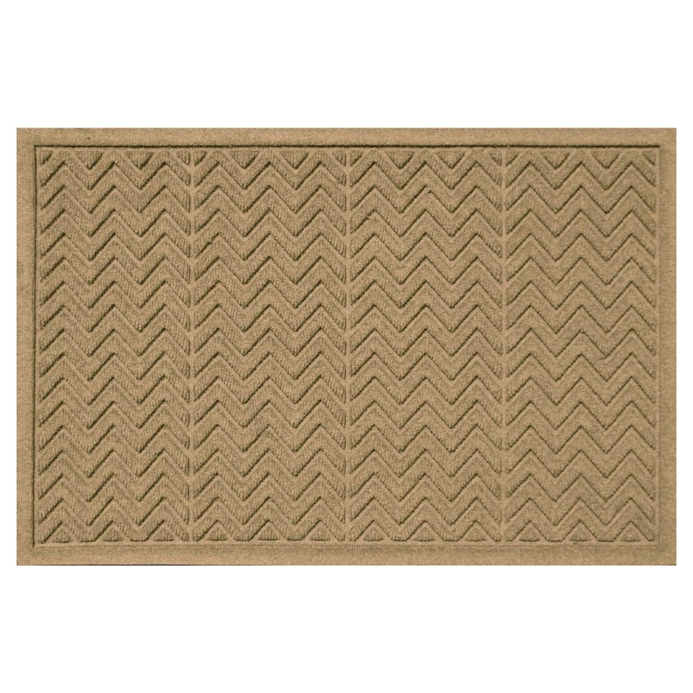 Gold Solid Doormat - (3'X5') - Bungalow Flooring