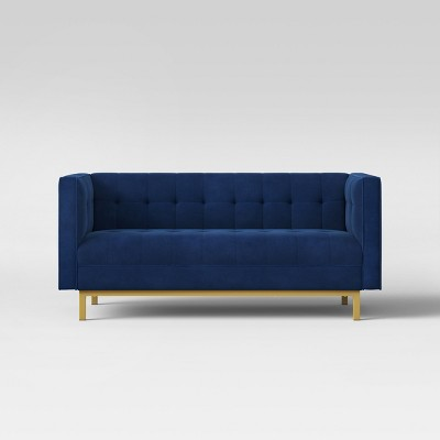 Cologne Tufted Track Arm Sofa Blue? - Project 62™