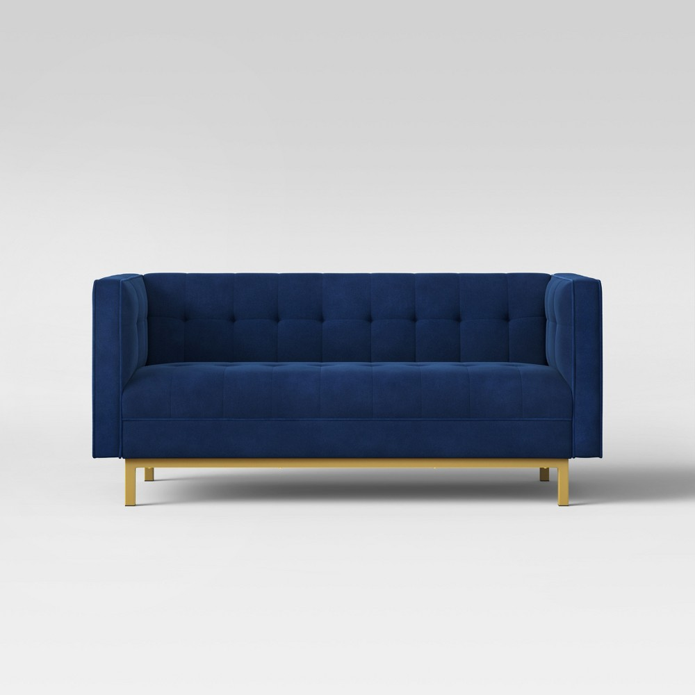 Image of Cologne Tufted Track Arm Sofa Blue - Project 62