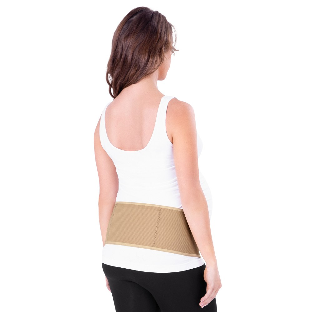 Image of Belly & Back Support Belt - Belly Bandit Basics by Belly Bandit Beige Nude M, Women's, Size: Medium