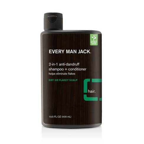 Every Man Jack 2-in-1 Dry Or Flakey Scalp Shampoo + Conditioner - 13.5 fl oz - image 1 of 3