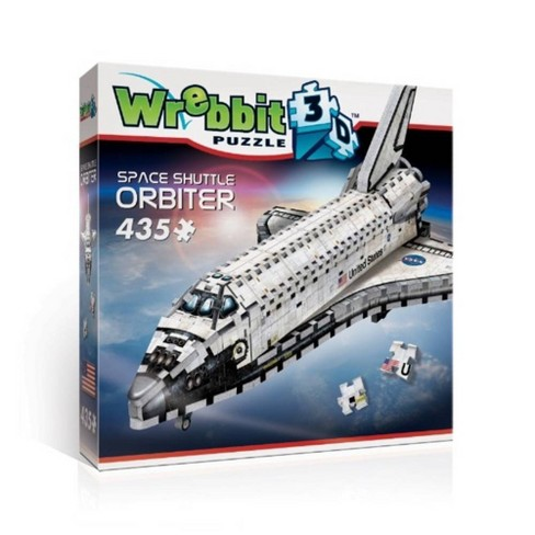Wrebbit Space Shuttle Orbiter 3D Puzzle 435pc - image 1 of 4