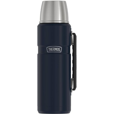 Thermos 40oz Stainless King Beverage Bottle - Midnight Blue