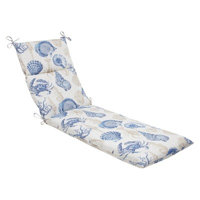 Pillow Perfect Chaise Lounge Cushion - Sealife