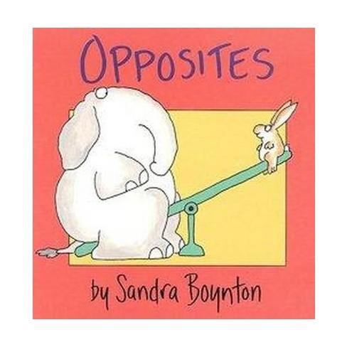 Opposites - (Boynton on Board) by  Sandra Boynton (Board_book) - image 1 of 1