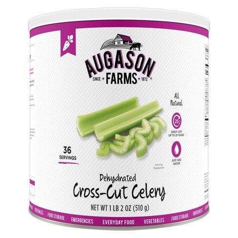 Augason Farms Gluten Free Dehydrated Cross Cut Celery - 18oz - image 1 of 6
