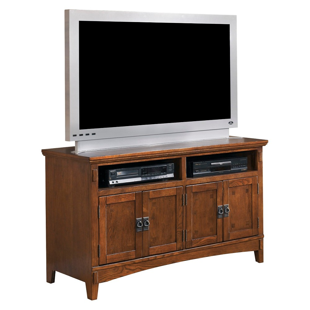 Cross Island Medium TV Stand Medium Brown 50 - Signature Design by Ashley