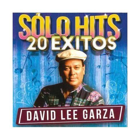 David Lee Garza - Solo Hits 20 Exitos (CD) - image 1 of 1