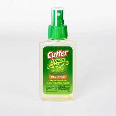 4 fl oz Lemon Eucalyptus Insect Repellent Pump Spray - Cutter