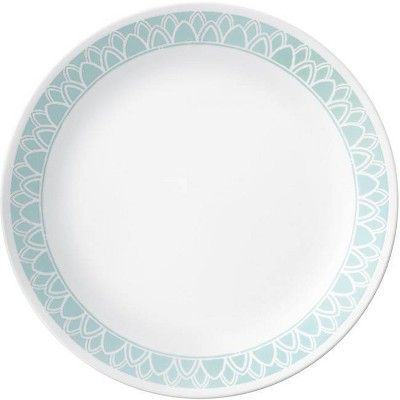 "Corelle 10.3"" Glass Delano Dinner Plate Teal"
