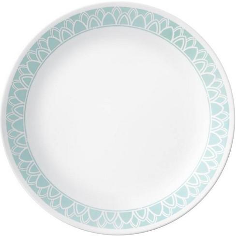 "Corelle 10.3"" Glass Delano Dinner Plate Teal - image 1 of 2"