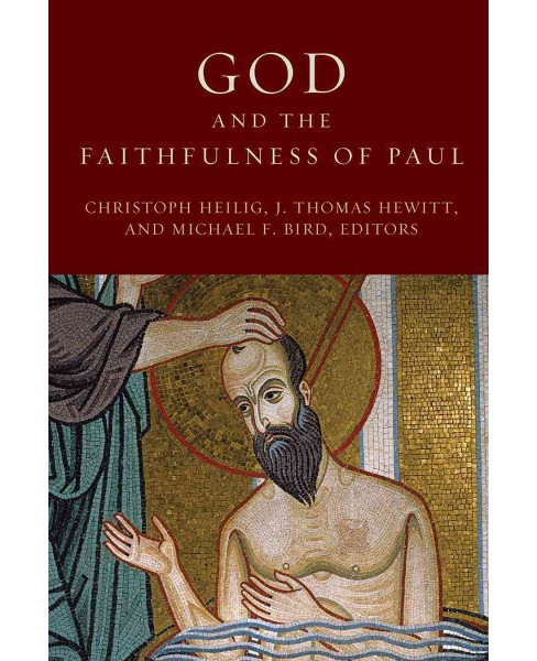 God and the Faithfulness of Paul : A Critical Examination of the Pauline Theology of N. T. Wright - image 1 of 1