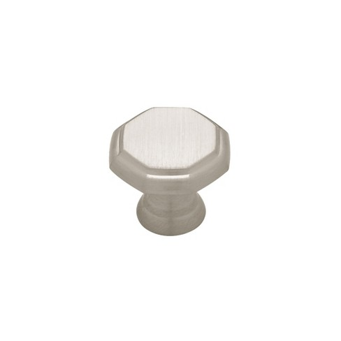 1 18 Octagon Knob 2pk Satin Nickel Threshold Target