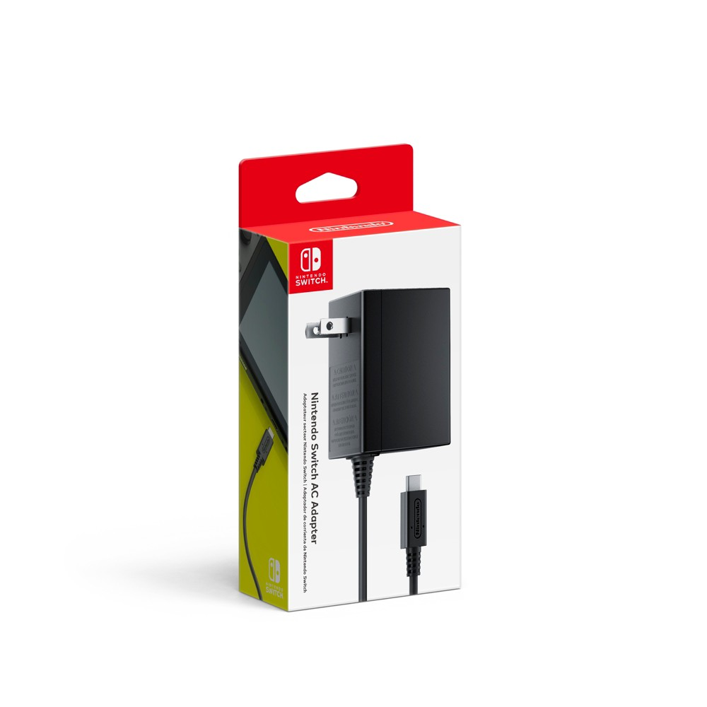 Nintendo Switch AC Adapter Plug in the AC adapter and power your Nintendo Switch system from any 120-volt outlet. The AC adapter also allows you to recharge the battery, even while you play.