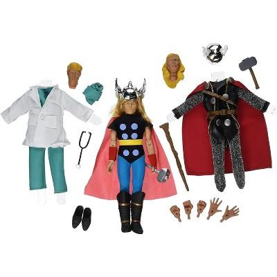 Diamond Select Marvel Thor 8 Inch Retro Action Figure Set