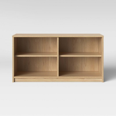 Open Shelf TV Stand Natural - Room Essentials™