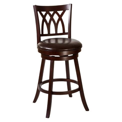 Fine Tateswood Swivel 25 75 Counter Stool Wood Composite Cherry Hillsdale Furniture Beatyapartments Chair Design Images Beatyapartmentscom
