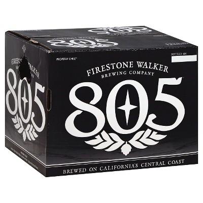 Firestone® Walker 805 Beer -12pk / 12oz Bottles