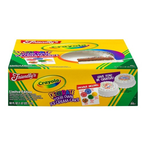 Friendly's Crayola Decorate Your Own Ice Cream Cake - 60oz - image 1 of 3