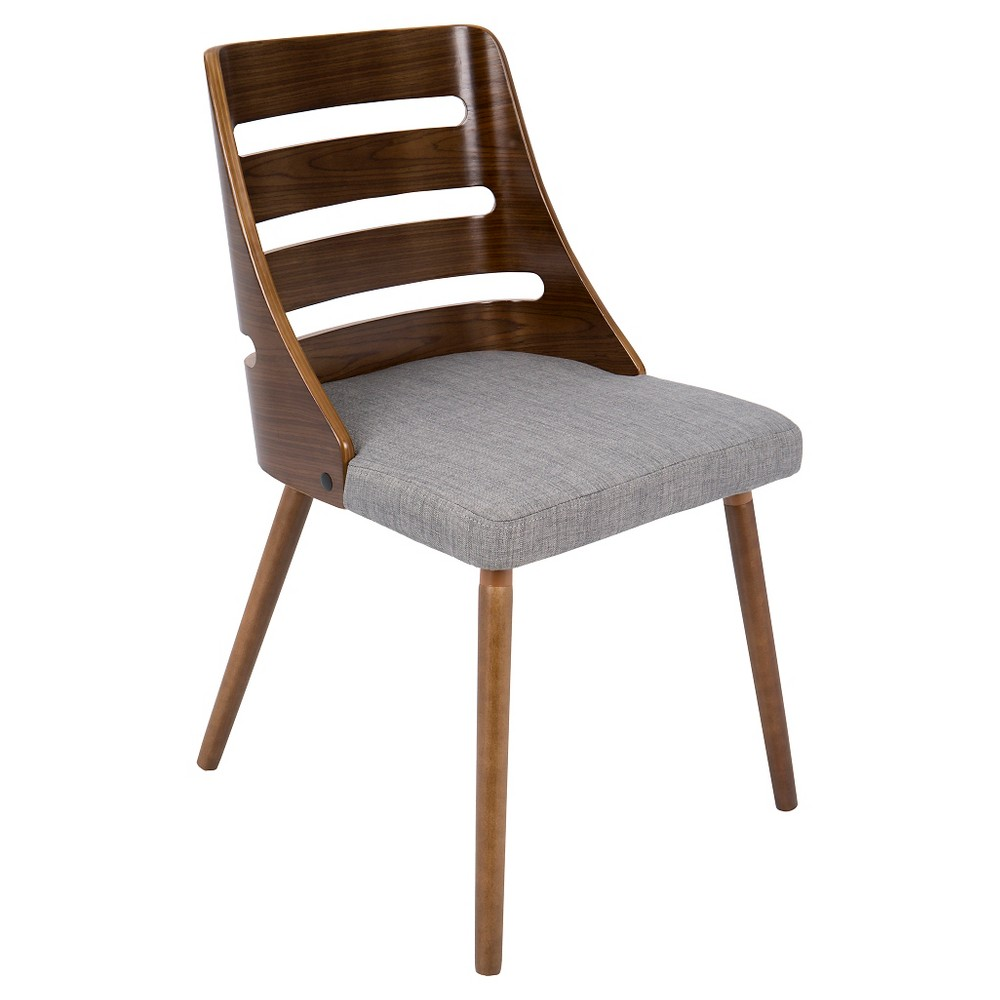 Best Trevi Mid Century Modern Dining Chair - Gray - LumiSource