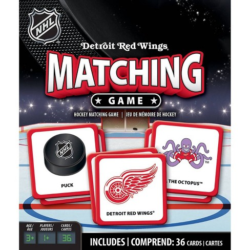 NHL Detroit Red Wings Matching Game - image 1 of 2