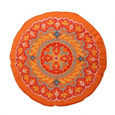 Mackenzie Round Medallion Decorative Pillow - Levtex Home