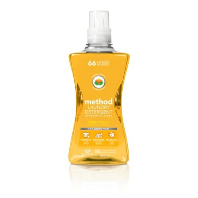 method Ginger Mango Laundry Detergent - 53.5 fl oz