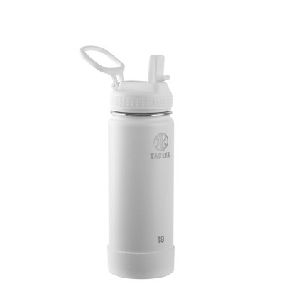Takeya 18oz Actives Insulated Stainless Steel Water Bottle with Straw Lid