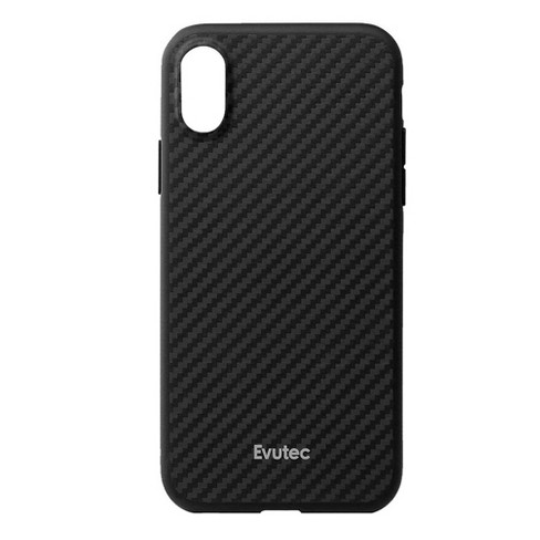 low priced 2bb90 c2aa8 Evutec Apple iPhone X/XS Karbon Case with Car Vent Mount - Black