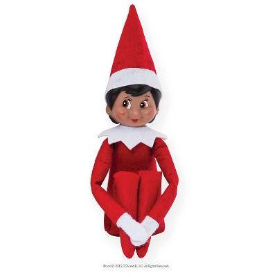 the elf on the shelf a christmas tradition with dark skin tone rh target com elf shelf return ideas elf shelf letter