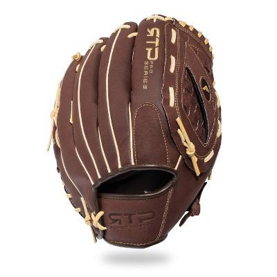 "Franklin Sports 12.5"" Pigskin Brown/Camel Baseball Glove - Right Hand Thrower"