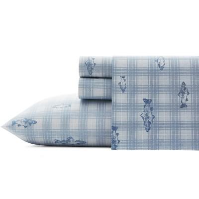 Printed Pattern Percale Cotton Sheet Set - Eddie Bauer