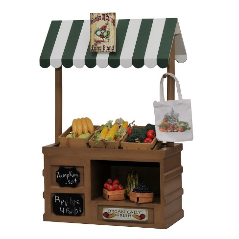 The Queen S Treasures 18 Inch Doll Furniture Interchangeable Farm Stand Signs 3 Wood Crates Tote Bag