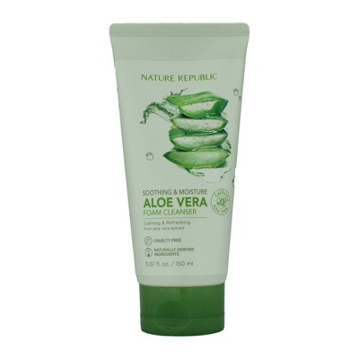 Nature Republic Foam Smoothing Facial Cleanser - 5.07 fl oz