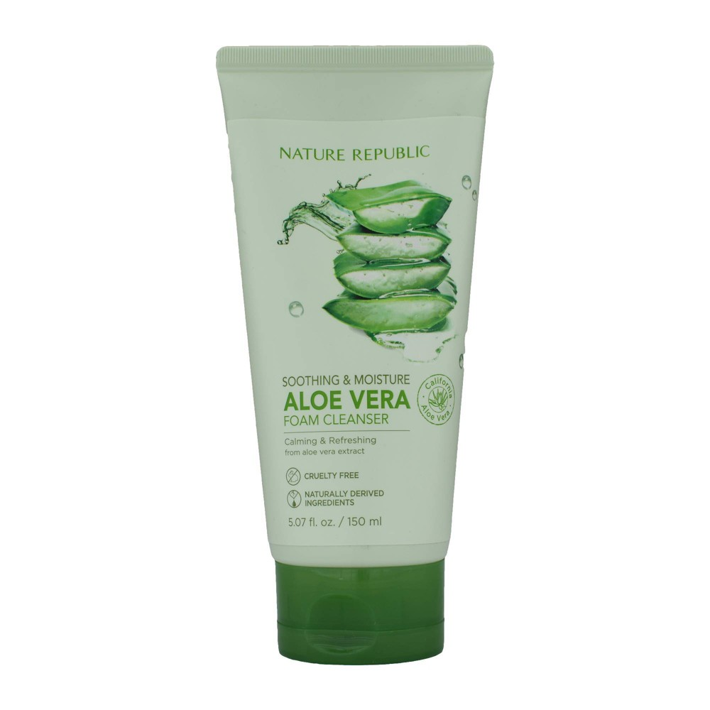 Image of Nature Republic Foam Smoothing Facial Cleanser - 5.07 fl oz