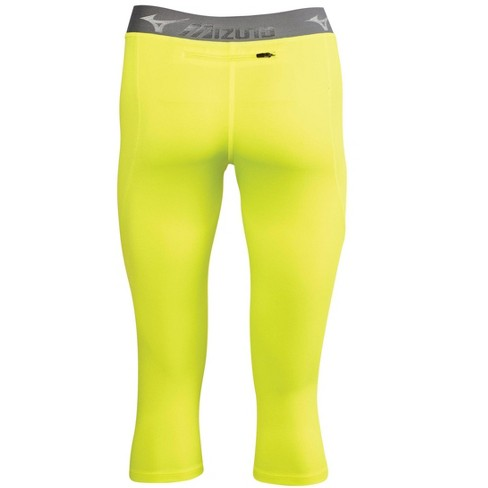 2adb99af0c Mizuno Women's Impulse Core 3/4 Running Tight Womens Size Large In Color  Yellow (3030) : Target