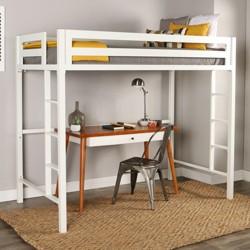 Bentley Metal Loft Bed (Twin) - Saracina Home