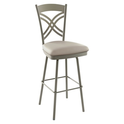 "Amisco Chain 26"" Counter Stool - Light Gray - image 1 of 2"