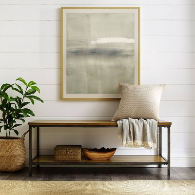 Brooke Entryway Bench Brown - Crosley
